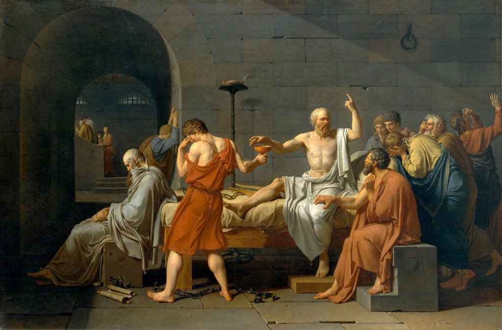 acques-Louis David, The Death of Socrates, 1787