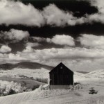 "Minor White, ""Barn and Clouds,"" 1955"