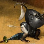 Detail from The Garden of Earthly Delights by Hieronymus Bosch The Prado, Madrid