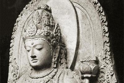 Tara as Prajñāpāramitā, 13th century, Java, Indonesia.