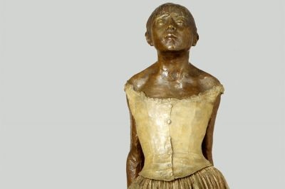Edgar Degas, The Little Fourteen-Year-Old Dancer, model executed ca. 1880, cast 1922, The Met FI
