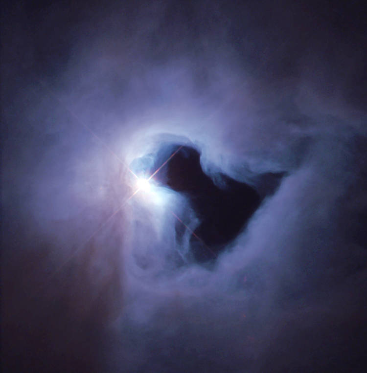 Reflection Nebula from Great Images in NASA (Wikimedia Commons)