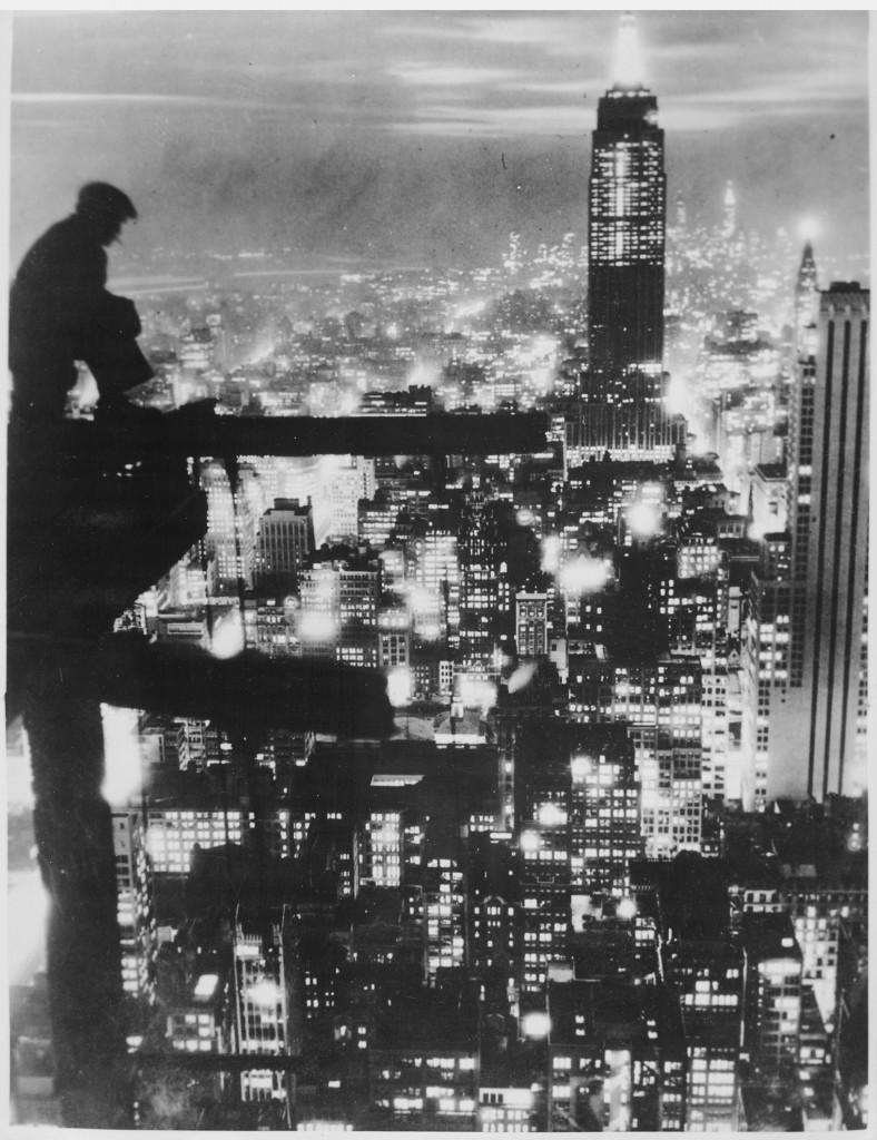 New York City At Night, ca. 1935