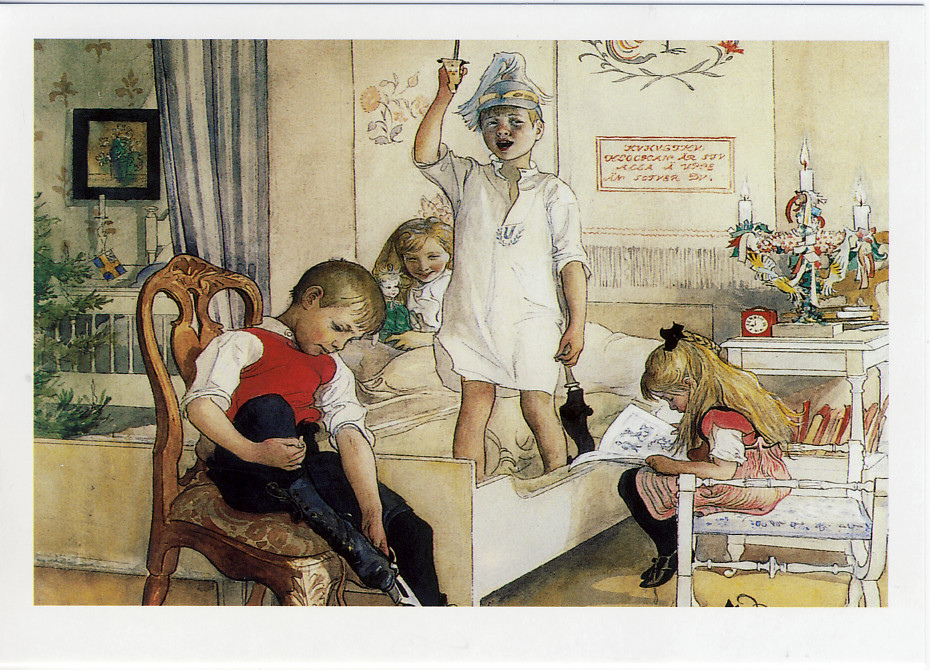 Christmas Morning, 1894. Carl Larsson