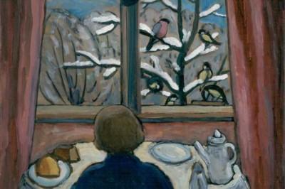 Gabriele Münter (February 19, 1877 – May 19, 1962), Breakfast of the Birds.