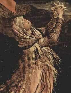 Mary Magdalene, Matthias Grunewald, detail from Isenheim Altarpiece