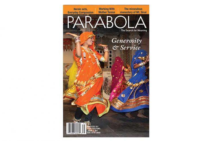 Parabola Volume 41, No. 4, Winter 2016-2017: Generosity & Service