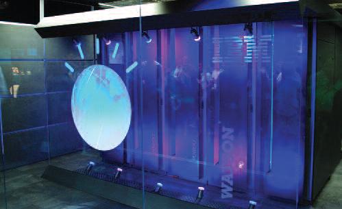 IBM's Watson, Yorktown Heights, New York, 2011