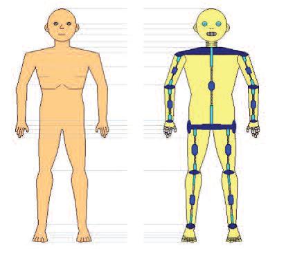 Human and robot proxy