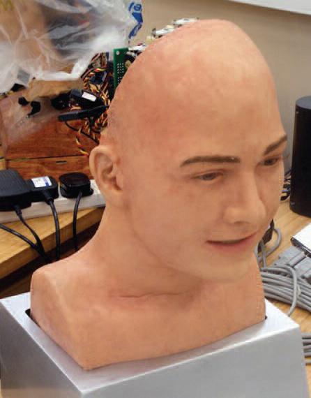 """""""Jules,"""" robotic human head"""