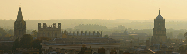 Oxford skyline. Photo by David Iliff