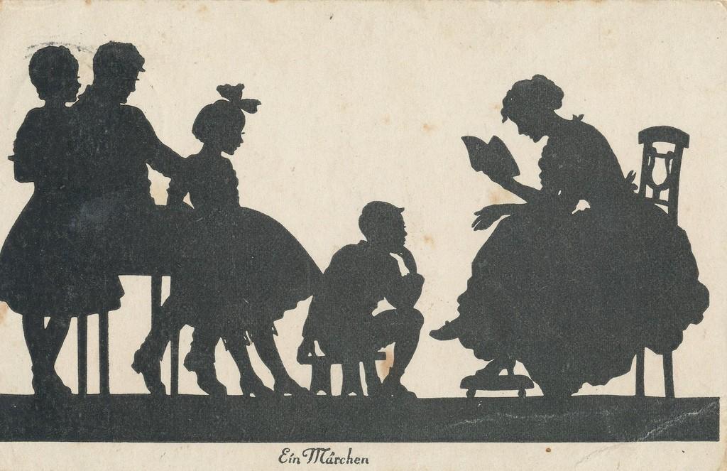 "Illustration ""Ein Märchen"" The Fairy Tale, Artist unknown, circa 1900."