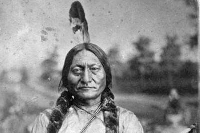 Orlando Scott Goff, Sitting Bull, 1881.