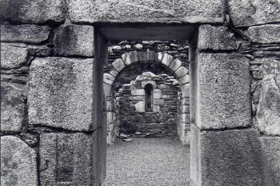 Paul Caponigro, Entrance, Reefert Church, Ireland, 1989