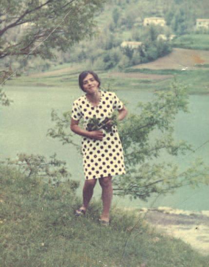Xharije in Italy, 1970