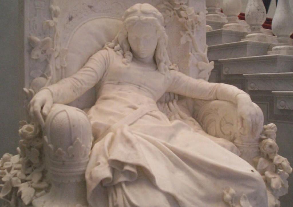 Sleeping. Louis Sussman-Hellborn (1828–1908)
