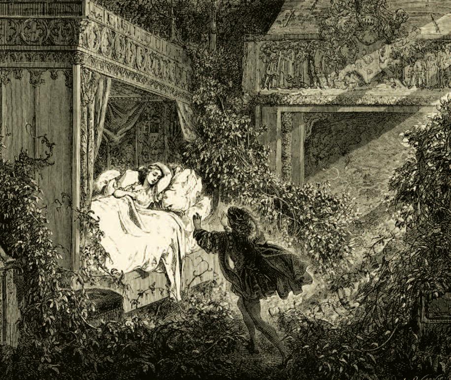 Waking Up Aurora, by Rhiannon Thomas  Parabola ~ La Belle Au Bois Dormant De Perrault