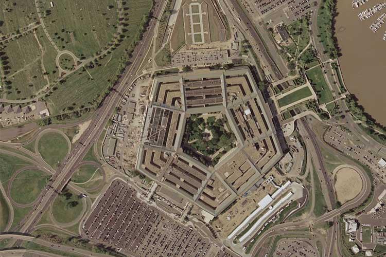 The Pentagon in April 20