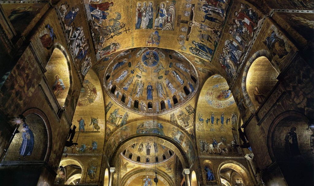 Mosaics in the Basilica di San Marco, Venice (11th-13th centuries)