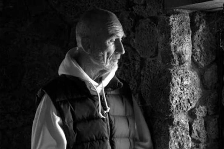Stephen Weiss, MD, portrait of Brother David Steindl-Rast, Mt. Saviour Monastery, Elmira, NY