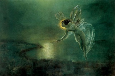 John Atkinson Grimshaw (1836–1893), Spirit of the Night, 1879.