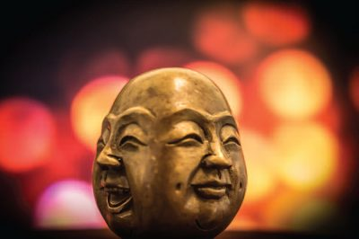 Wordly Happiness / Buddhist Happiness, by Mu Soeng