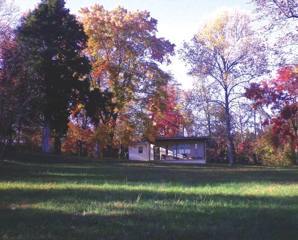 Merton's Hermitage, Autumn, Abbey of Gethesmani, Kentucky