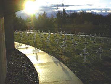 Cemetery Sun, Abbey of Gethesmani, Kentucky
