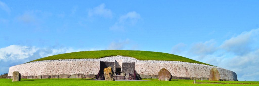 Newgrange. Photograph by young shanahan