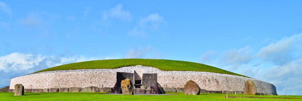 Newgrange. Photograph by young shanahan