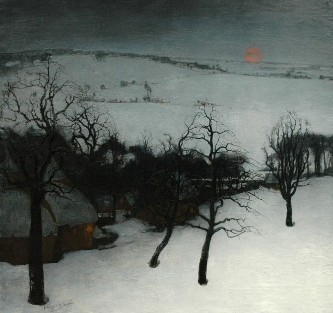 Valerius de Saedeleer (1876-1946), Winter Landscapes
