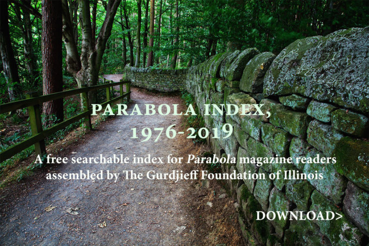 Parabola: The Search for Meaning : Free Complete Digital Index, 1976-2019
