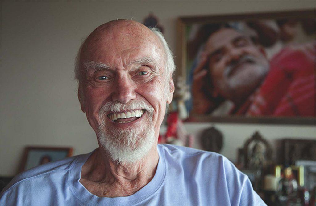 Ram Dass. Photograph by David Ulrich