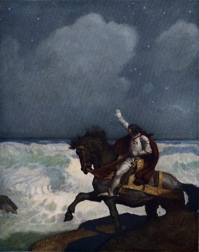 From The Boy's King Arthur, 1922. N.C. Wyeth