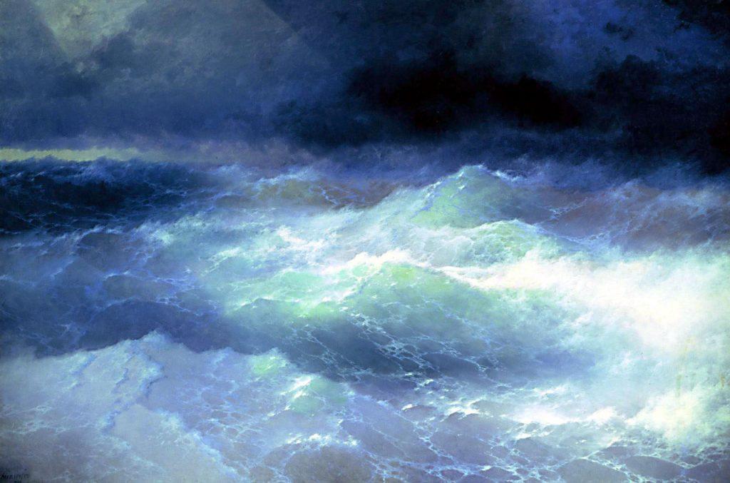 Ivan Aivazovsky, Between the Waves, 1898