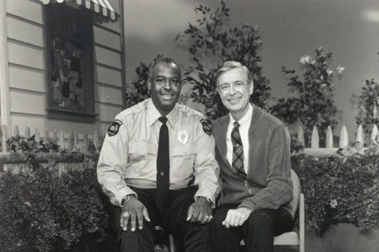 A Moment with Mister Rogers, by Jeff Zaleski