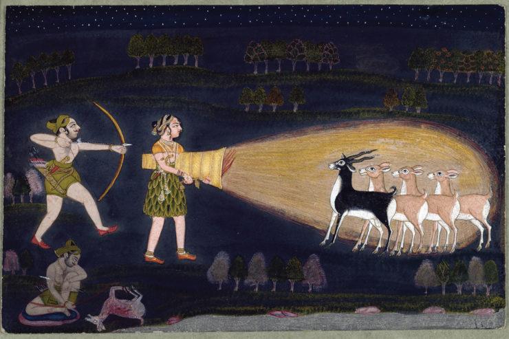 Sarabha-miga Jataka, The Noble Stag, Retold by Margo McLoughlin