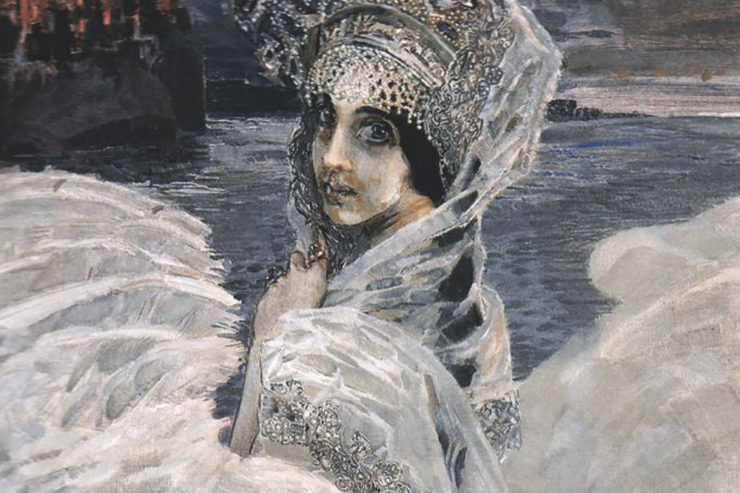 The Swan Princess. Mikhail Vrubel. Oil on canvas. Tretyakov Gallery, Moscow