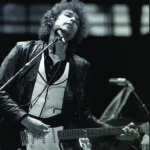 Bob Dylan in concert, Rotterdam de Kuip, June 23, 1978. Photograph by Chris Hakkens